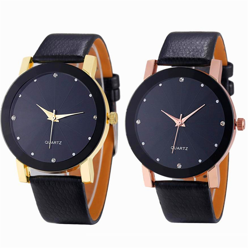Watches OTOKY Willby Men Convex Quartz Watches Stainless Steel Leather Vogue Wrist Watches Gift Drop Shipping Aug-18 otoky men watches reloj hombre watches luxury black stainless steel analog quartz sport wrist watch drop shipping 71221