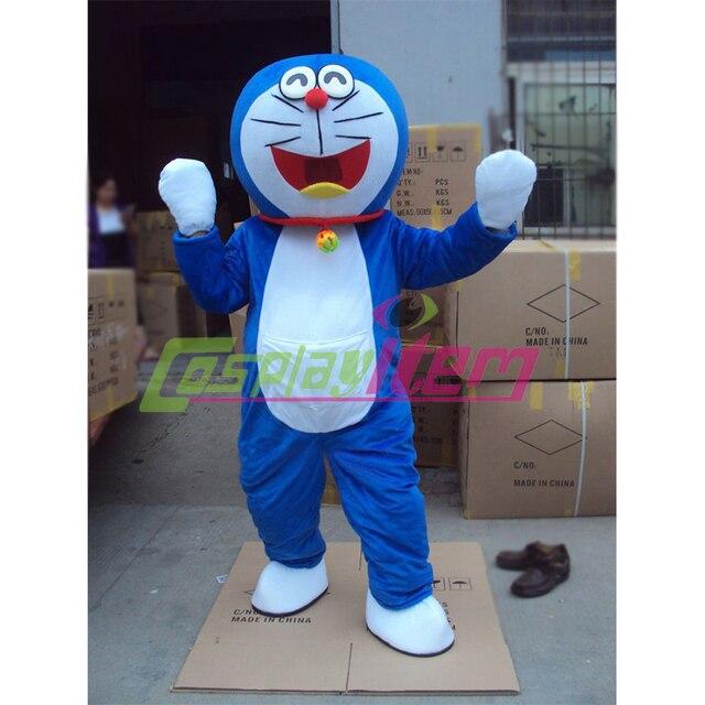 Custom made movie cartone animato doraemon cosplay della mascotte