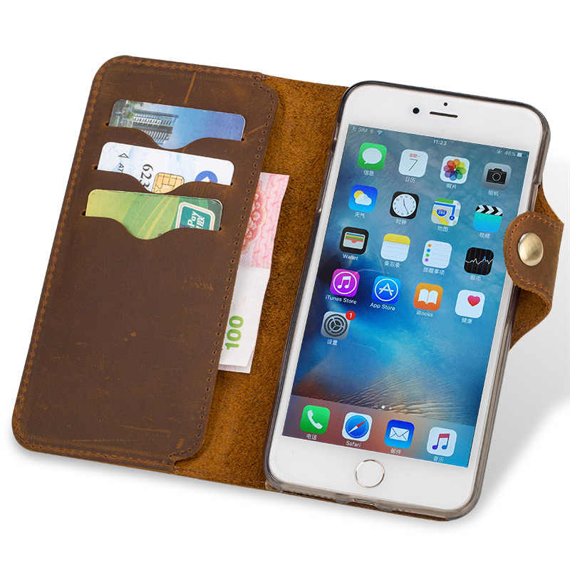 Oryginalne skórzane etui z klapką obudowa do xiaomi Redmi Note 4 5pro 7pro K20 obudowa tylna retro skórzany klamra miękki silikonowy bumper telefon pokrywa