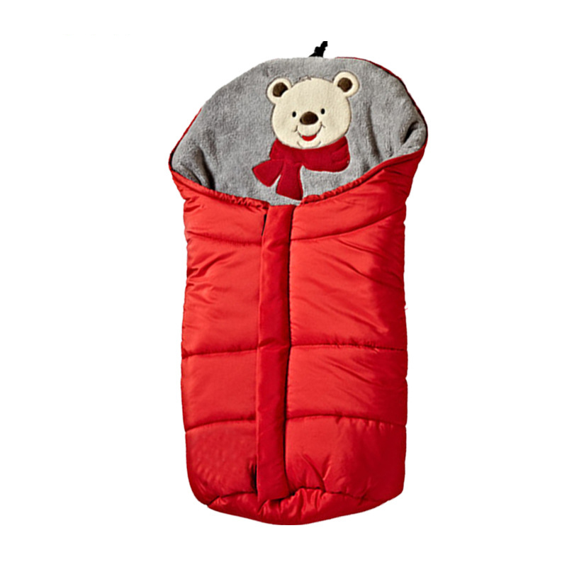 Baby Sleeping Bag Windproof Stroller Bunting 0-6 Months Footmuff Universel Accessories