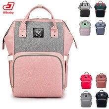 Рюкзак для мам, вместительная многофункциональная водонепроницаемая сумка для подгузников