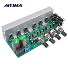 AIYIMA LM1875 5.1 채널 오디오 앰프 보드 서브 우퍼 앰프 DIY 사운드 시스템 스피커 홈 시어터 25W * 6 Super TDA2030