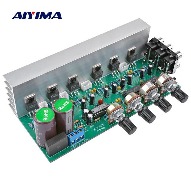 AIYIMA LM1875 5.1 ช่องเครื่องขยายเสียงซับวูฟเฟอร์เครื่องขยายเสียง DIY เสียงระบบลำโพงโฮมเธียเตอร์ 25W * * * * * * * 6 Super TDA2030