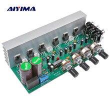 AIYIMA Placa de amplificador de Audio LM1875 de 5,1 canales, amplificador de tipo Subwoofer, sistema de sonido DIY, altavoz para cine en casa, 25W * 6 Super TDA2030