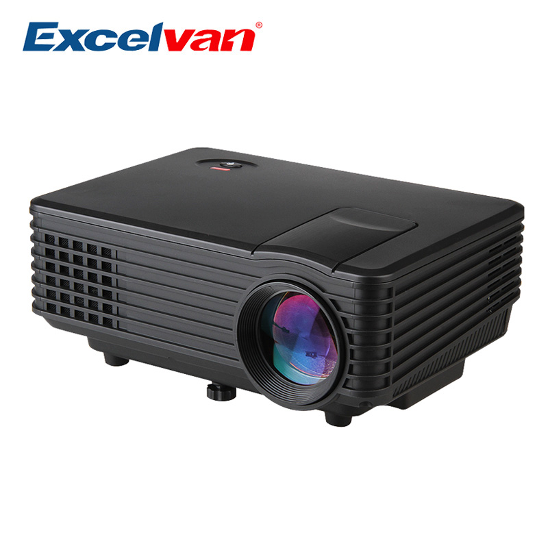 excelvan ec77 rd 805 120 lumens projector mini led. Black Bedroom Furniture Sets. Home Design Ideas