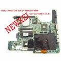 Laptop motherboard para HP PAVILION DV9000 441534 001 amd PM com NVIDIA GeForce Go 7600 DDR2 100% teste ok