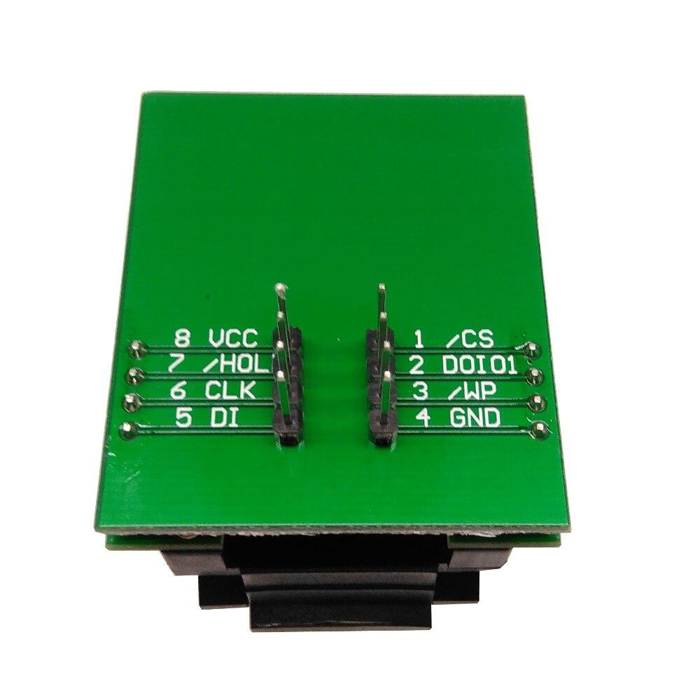 BGA24 à DIP8 IC adaptateur prise pour 8x6mm largeur du corps BGA puces SMT/SMD prise de Test - 6