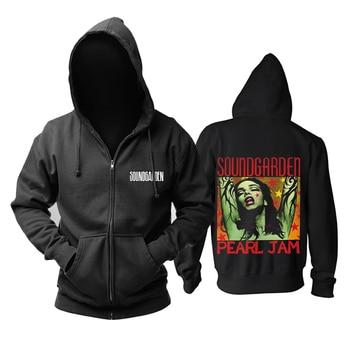 Bloodhoof Soundgarden Grunge Rock alternative metal  New Black hoodie  Asian Size