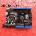 1 pcs Novo 2016-UNO R3 ATmega328P/CH340G MicroUSB. compatível com Arduino UNO Rev 3.0 (hei)