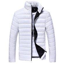 Мужские повседневные теплые куртки с воротником-стойкой для мальчиков, Лидер продаж 2018 года, приталенное пальто на молнии, Брендовые куртки на осень-зиму, парка, верхняя одежда для мужчин WS & E