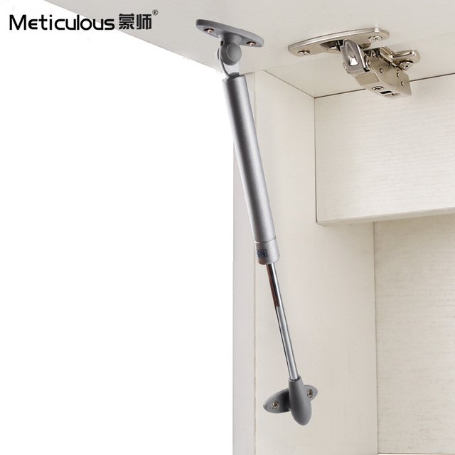 Meticulous 2Pcs 80N/8kg Steel Door Lift Hold Hydraulic Pneumatic Gas  Support Strut Furniture Cabinet Door Stay Soft Close