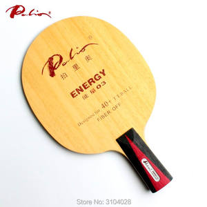 Image 4 - Palio Hoja de tenis de mesa oficial energy 03, especial para más de 40, nuevo material, raqueta de tenis de mesa, bucle de juego y ataque rápido de 9 capas