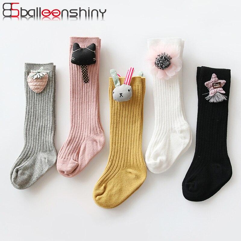 Princess Kids Children Middle Tube Socks Mesh Socks Baby Girls High Knee Socks