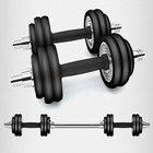 <+>  Тренажеры для фитнеса Набор гантелей 30 кг Бытовая мерсеризированная удочка с резиновым покрытием ①