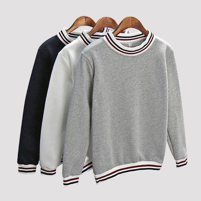 2017 sudaderas de otoño a la moda con retazos a rayas sudaderas con capucha para mujer con capucha Harajuku ropa de mujer Svitshot