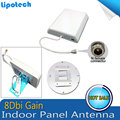 Antenna Indoor Panel Use 800~2500MHz CDMA / GSM / DCS / AWS / WCDMA 8dBi N Type Signal Booster Antenna Amplifier With 0.3m cable