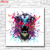 Fashion Oil Painting Animal Leopard Paiting Home Decor On Canvas Modern Wall Art Canvas Print Poster