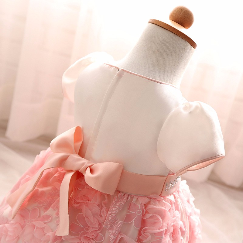 Baby Girls Dress 2016 New Fashion Kids Princess Birthday Party Tulle Wedding Dresses Christmas Dress Newborn Infant Clothes 0-2Y-13