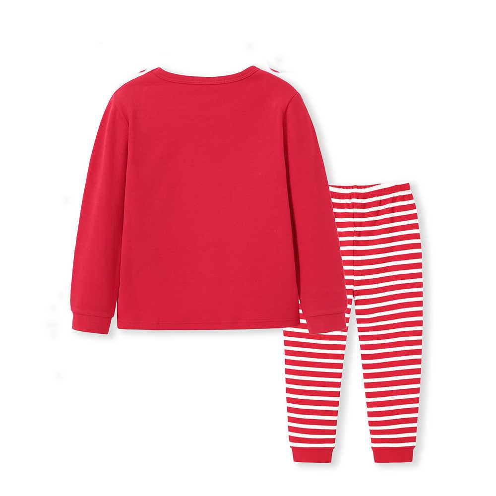 Conjunto de pijama Balabala de 2 piezas de algodón suave para niños y niñas, conjunto de pijama de 2 piezas de cerdo rojo para niños y niñas, ropa de primavera
