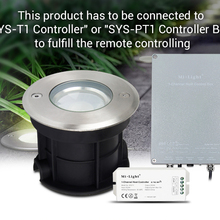 Milight 5 W RGB+ CCT светодиодный подземный свет SYS-RD1 Водонепроницаемый подчиненных лампа наружного освещения телефон APP/WI-FI/Amazon голос Управление
