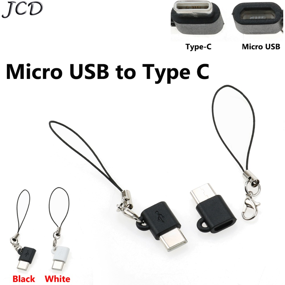 JCD 3pcs USB Type C Male To Micro USB Female OTG Adapter For OnePlus For Xiaomi 8 For Samsung Galaxy Type C 3.1 Converter Typec