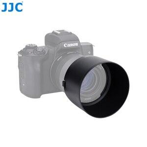 Image 1 - JJC Camera Lens Hood For Canon EF M 32mm f/1.4 STM Lens On Canon EOS M200 M100 M50 M10 M6 Mark II M5 M3 Replaces Canon ES 60