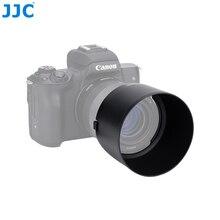JJC عدسة الكاميرا هود لكانون EF M 32 مللي متر f/1.4 STM عدسة على كانون EOS M200 M100 M50 M10 M6 مارك II M5 M3 يستبدل كانون ES 60
