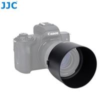 Jjc Camera Zonnekap Voor Canon EF M 32 Mm F/1.4 Stm Lens Op Canon Eos M200 M100 M50 m10 M6 Mark Ii M5 M3 Vervangt Canon ES 60
