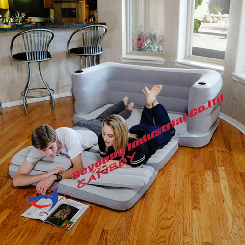 Bestway Multi Max Queen Size Inflatable Couch Bed Sleeping