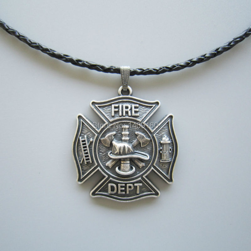 popular firefighter necklace charms buy cheap firefighter