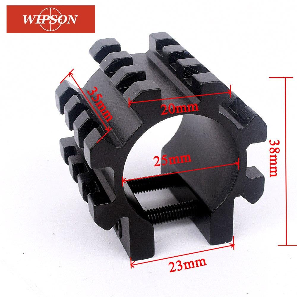 Wiinson caça tri-trilho barril montagem para tubos mag caber 12 calibre ga 500 tiro arma rifle 5 posição mossberg alumínio escopo montagens
