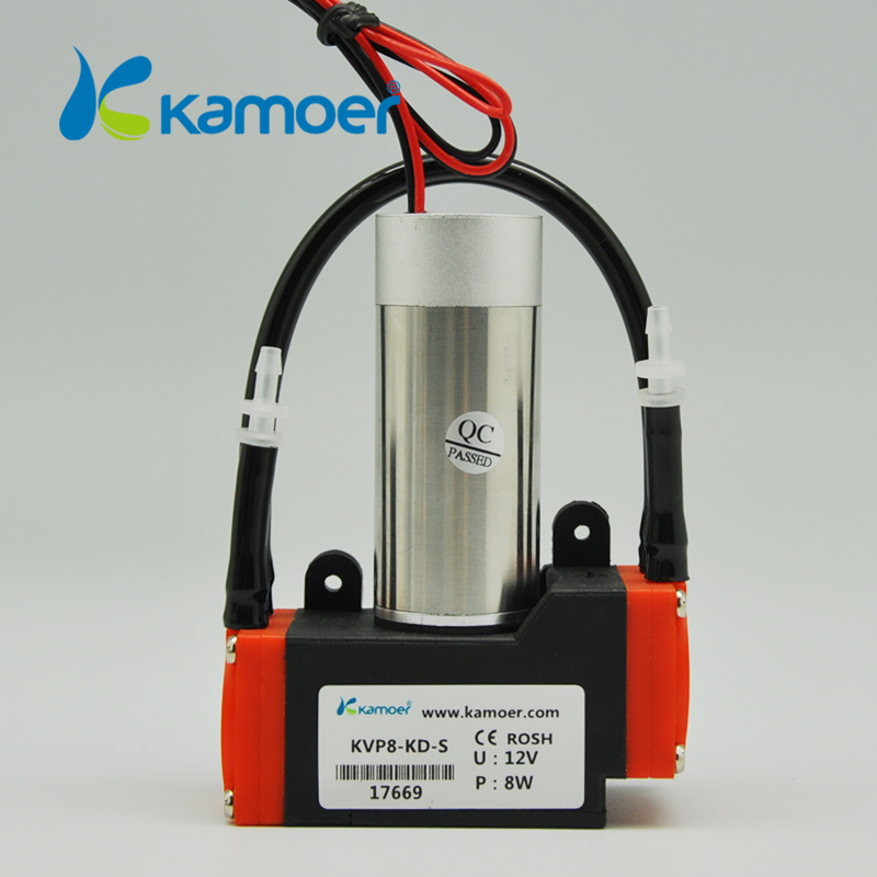 Kamoer KVP8 24V dc diaphragm vacuum pump with brushless motor mini diaphragm air pump 24V micro diaphragm vacuum pump with dc motor mini air pump 12v 24v with high nagative pressure vacuum degree r kamoer kvp8 plus