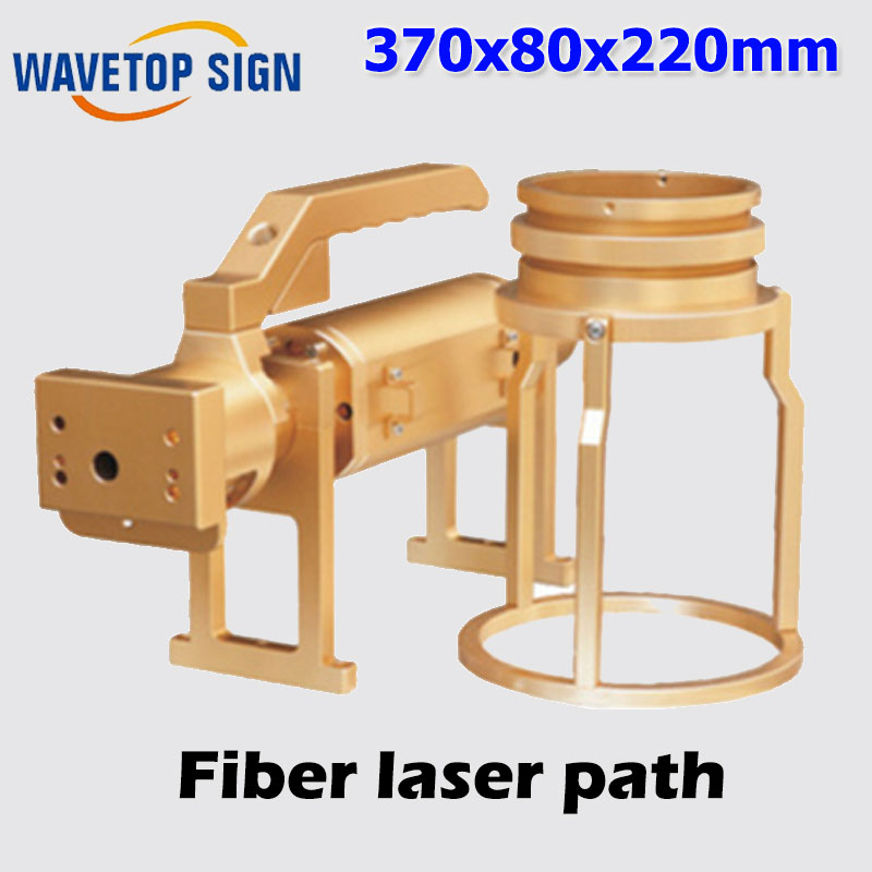 Laser accessories / hand-held optical fiber laser path 370x80x220mm hand held anti slip fiber optical microscope 200x magnification cl inspection led illumination built in ir filter