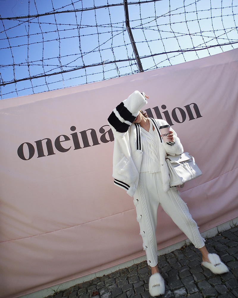 2018 De Blanco Mujeres Femenino Suéter Casual Borla Primavera Pantalones Punto Harlan Cintura Tejido Regular Caliente Venta Acrílico Nuevo Las Relajado Elástico AxwRn7Ep