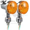 sliver motorbike turn signals light for yamaha honda suzuki flasher yellow lighting lamp motorcycle Turn Signal Indicator black
