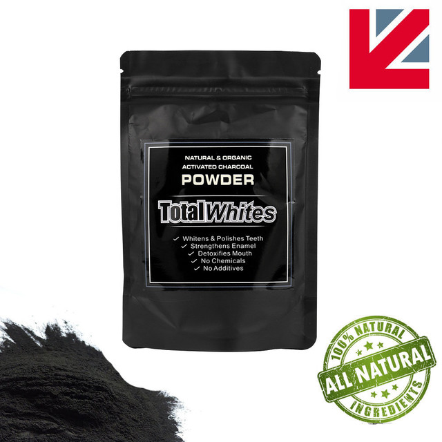 Natural Teeth Whitening Powder Organic Activated Charcoal Teeth