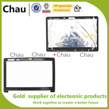 New For ASUS X502 X502C X502CA   LCD Back Cover+ Lcd Front Bezel Cover 13N0-P1A0C010B 13NB00I1AP0101 13NB00I1AP0201