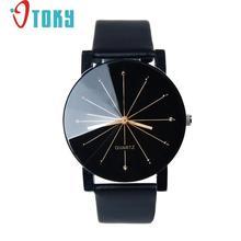 0f8af38ae5b Reloj hombre relógio 1 PC Homens Relógio de Marcação De Quartzo Relógio de  Pulso de Couro