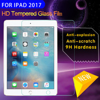 Tempered Glass For Apple IPad 2017 9 7 Inch 9H Hardness Glass Screen Protector Film For