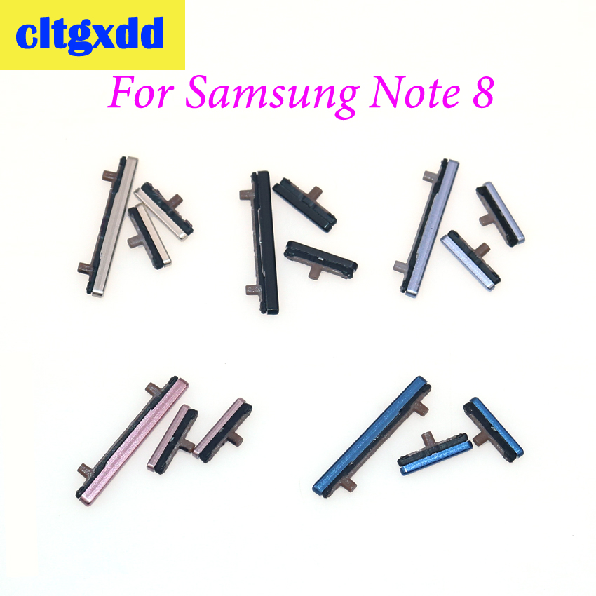 cltgxdd New Side Keys Power and Volume Buttons Replacement For <font><b>Samsung</b></font> <font><b>Galaxy</b></font> <font><b>Note</b></font> <font><b>8</b></font> N950 N950F N950FD N950U N950W <font><b>N950N</b></font> image