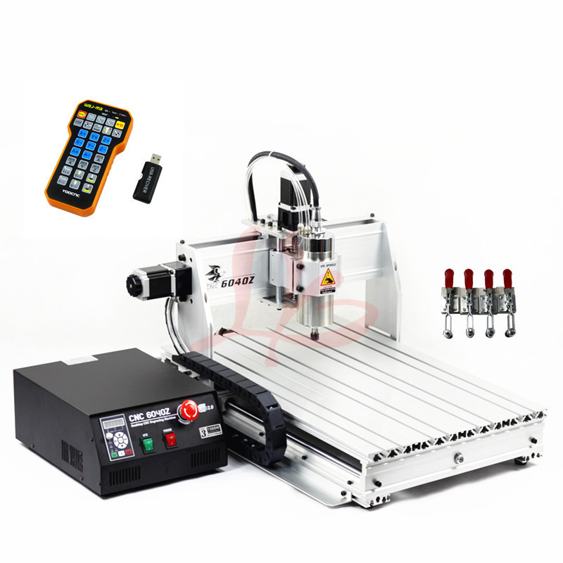 LY CNC 6040 2200W 3axis USB Milling Machine Limit Switch Industry wood CNC Router cnc router wood milling machine cnc 3040z vfd800w 3axis usb for wood working with ball screw