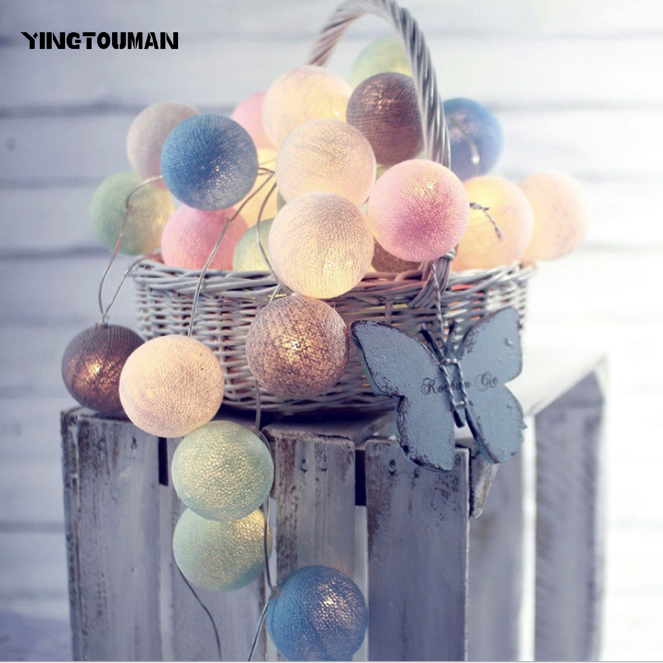 YINGTOUMAN LED String Light 3M Waterproof 20 LED Holiday String Lighting Christmas Lights Party Outdoor Decoration