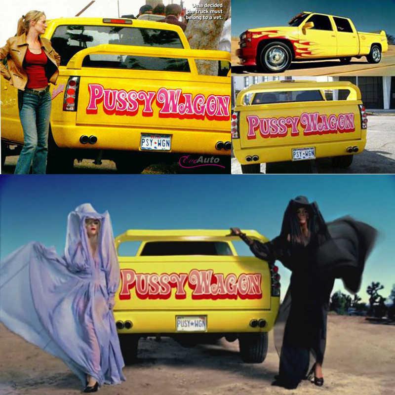 Quentin Tarantino Pussy Wagon Chaveiro Telefone Video da Lady Gaga O Pussy Wagon De Kill Bill E Bastardos Inglórios