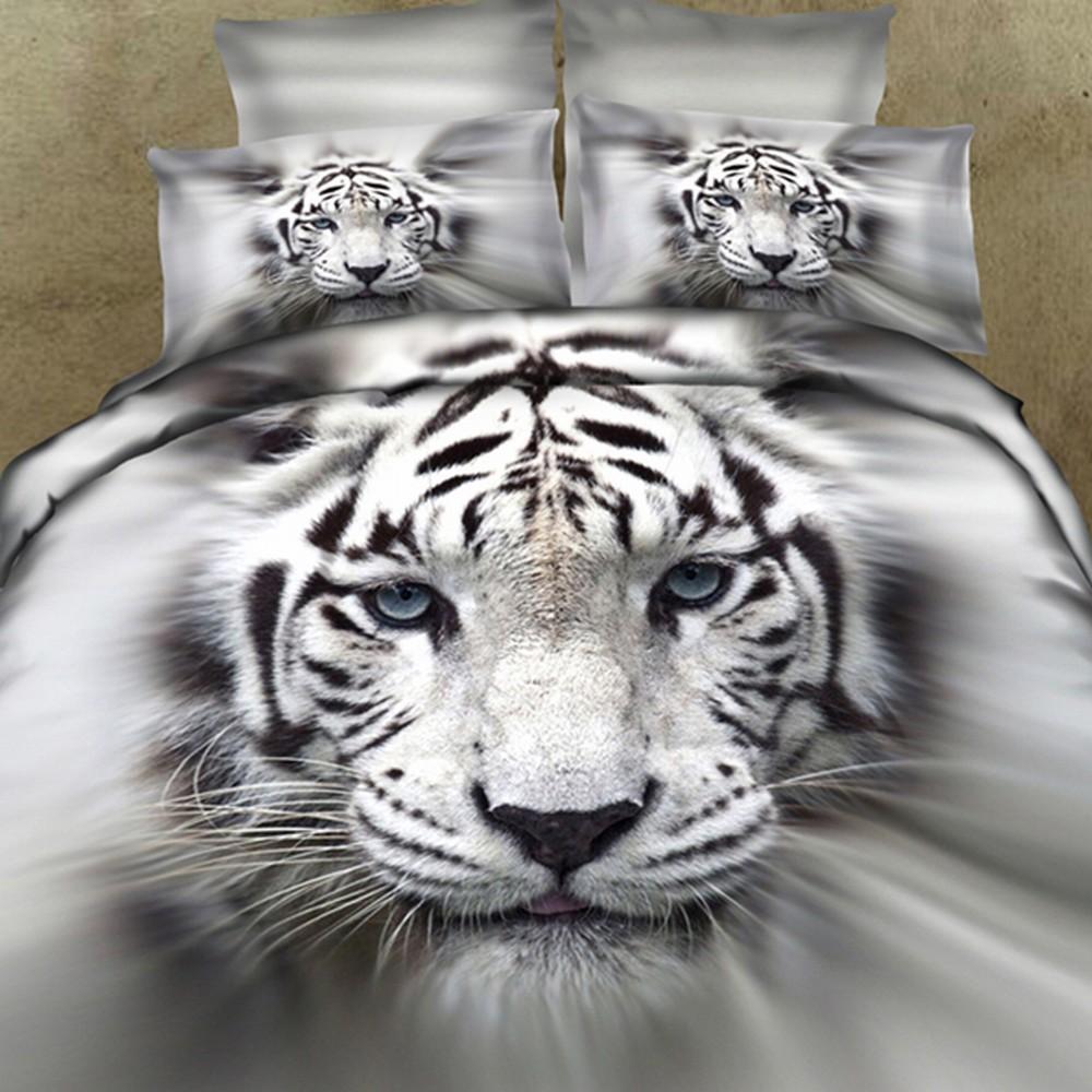 Witte tijger beddengoed koop goedkope witte tijger beddengoed ...
