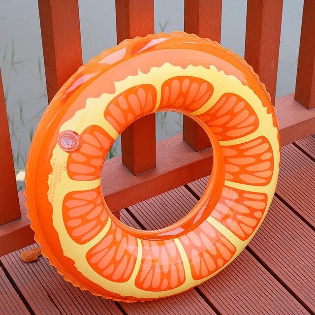 Надувные Одежда заплыва кольцо Одежда заплыва круг бассейна детские кольцо Одежда заплыва поплавок надувной матрас Кольца для детей лимон flooat