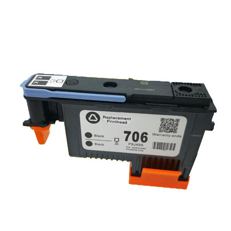 Original Printhead for HP 706 Black/Black F9J49A DESIGNJET D5800
