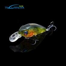 Trulinoya Bears Fish Fat Mini Crank 35mm 3.5g Fishing Lures Hard Bait Crankbait Multi Artificial Bait Water Depth Top Quality