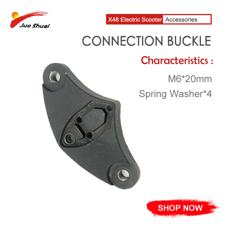 New Design Seamless Arc Connection Buckle 20MM 4 Spring Pad Replacement Parts For Electric Scooter Patinete Eletrico On Sale