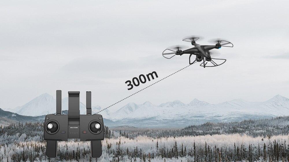 Transportation - Holy Stone HS120D GPS Drone FPV 1080p HD Camera Professional Wifi RC Drones Selfie Follow Me Quadcopter