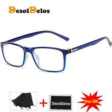 Korean Fashion Square Clear Glasses Women 2019 New Eyewear Spectacle Frames Transparent Oculos Eyeglasses Fake